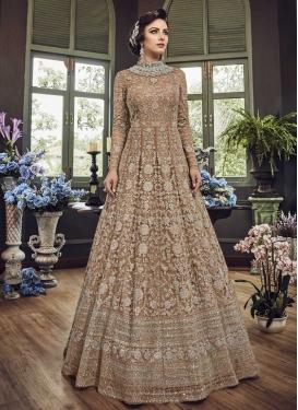 Trendy Long Length Salwar Suit For Ceremonial
