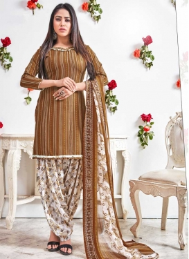 Trendy Patiala Salwar Kameez For Casual