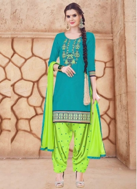 Trendy Patiala Salwar Kameez For Ceremonial