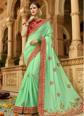 Trendy Saree For Ceremonial