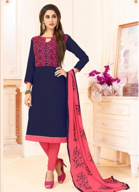 Trendy Straight Salwar Suit For Casual