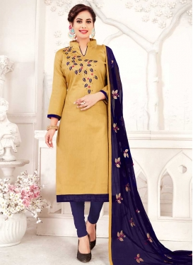 Trendy Straight Salwar Suit For Festival