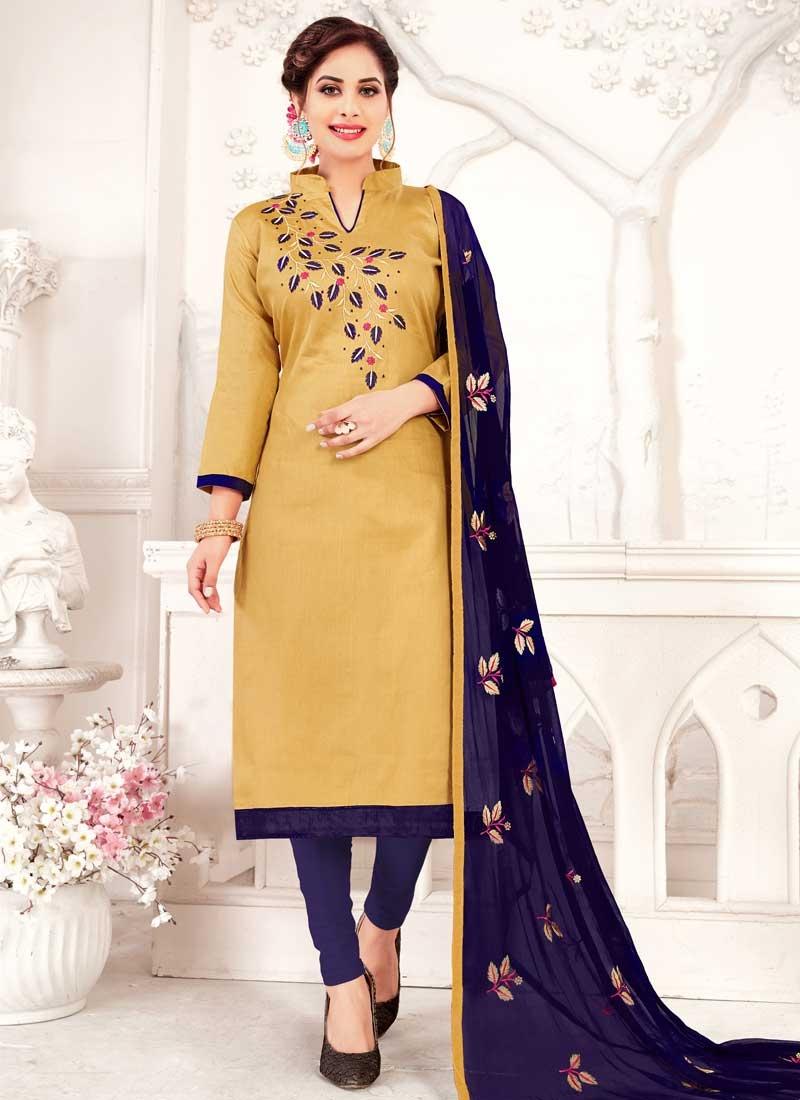 Trendy Straight Salwar Suit For Festival