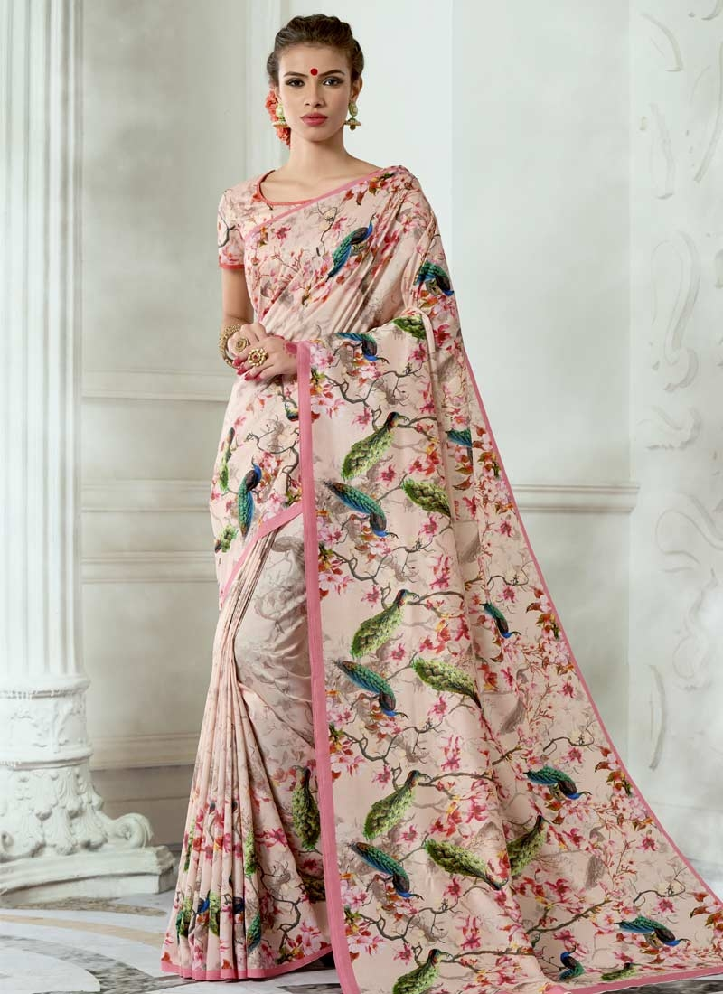 Tussar Silk Designer Contemporary Saree