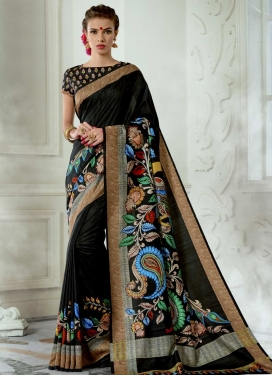 Tussar Silk Designer Contemporary Style Saree