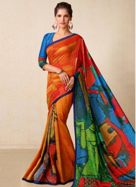 Tussar Silk Trendy Classic Saree