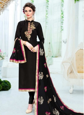Uppada Silk Pakistani Straight Salwar Suit