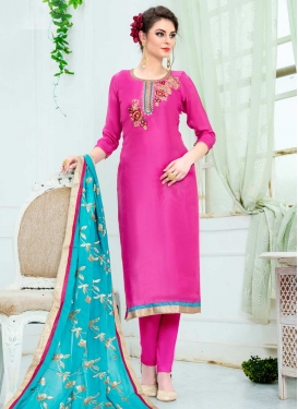Uppada Silk Pant Style Pakistani Salwar Kameez