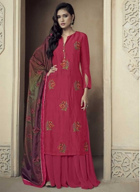 Uppada Silk Sharara Salwar Suit For Ceremonial