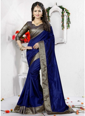 Urbane Lace Work Classic Saree