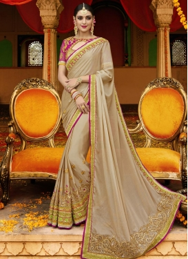 Urbane Satin Silk Trendy Classic Saree For Ceremonial
