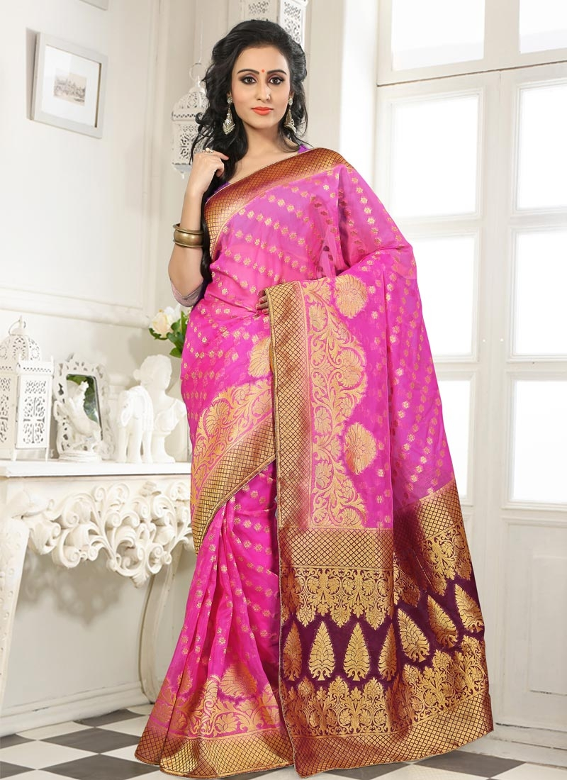 Vehemently Banarasi Party Wear Saree