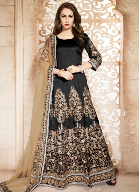 Vehemently Booti Work Ankle Length Designer Salwar Suit