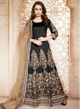 Vehemently Booti Work Ankle Length Designer Salwar Suit