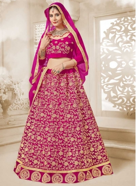 Velvet Trendy Lehenga For Festival