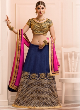 Versatile Embroidered Work Designer Lehenga Choli