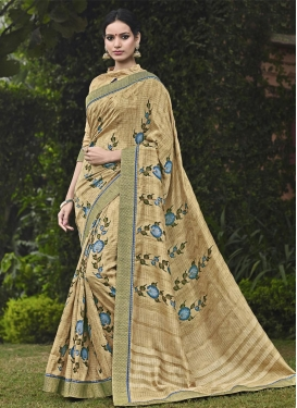 Vibrant  Traditional Saree For Festival