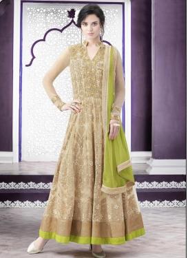 Vivid Designer Kameez Style Lehenga Choli For Festival