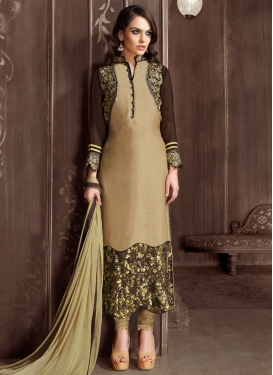 Whimsical Sequins Work Pakistani Salwar Kameez