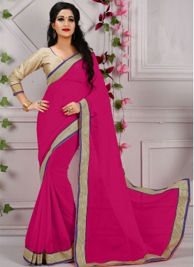 Winsome Resham Work Casual Saree