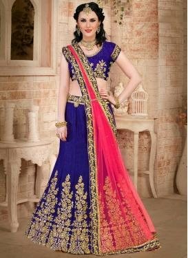Winsome  Silk Designer A Line Lehenga Choli