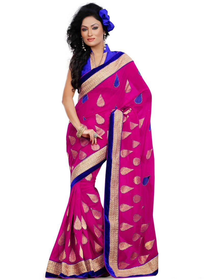Winsome Stone Work Party Wear Saree