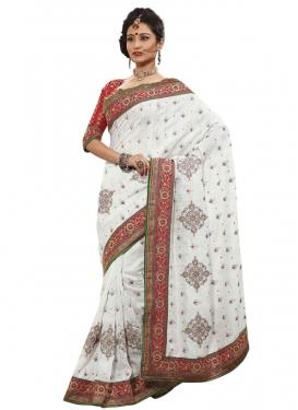 Wondrous Jacquard Silk Designer Saree