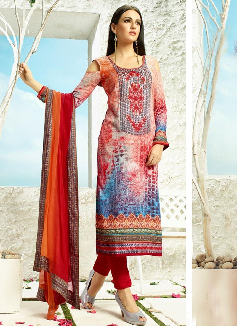 Wondrous Resham Work Pant Style Party Wear Salwar Suit