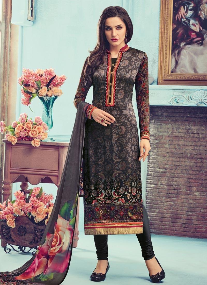 f583be72a0 Zesty Digital Print Work Pakistani Salwar Kameez